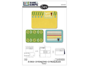 Sizzix Thinlits Die Set 3PK - My Girl - $20
