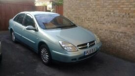 Citroen C5 2002, 2.2 Hdi Automatic Turbo Diesel. (136 bhp) Mot Until June 2018 (153,000) Miles