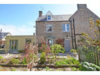 4 bed semi or furnished house with garden - Dornoch