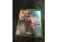 Battlefield 1 game xbox 1