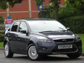 Ford Focus 1.6 Petrol 2009 Titanium..PARKING SENSORS +FULL FORD SERVICE HISTORY