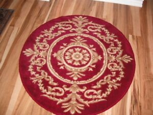 Lovely small round rug