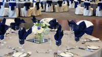 royal blue wedding  asking 200 for all