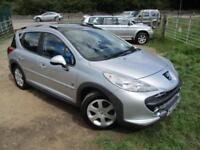 2008 PEUGEOT 207 SW OUTDOOR PANORAMIC ROOF ESTATE DIESEL