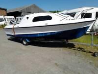 535 Shetland Suntrip with 50hp outboard.