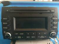 Car audio Hyundai