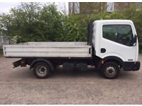 2011 (61) NISSAN CABSTAR 35:13 DROPSIDE, 3 FRONT FACING SEATS & BLUETOOTH