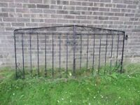 Beautiful Pair Of Cast Iron Metal Garden Drive Gates - Others Available