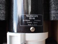 SkyWatcher ED100 DS PRO (F10) Doublet Apo Refractor Telescope EX+ £525