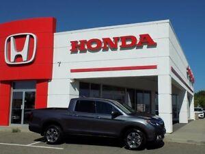 2017 Honda Ridgeline Touring All-wheel Drive Crew Cab 125.2 in.