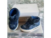 Clarkes infant high top trainer boot size 4.5 f