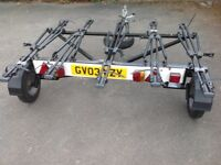 CYCLE CARRIER/TRAILER-5 BIKES