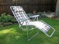 two large garden / camping chairs