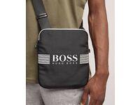 Black Hugo boss pouch like new