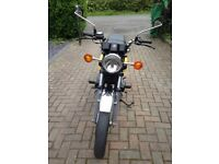 Yamaha RD400 D (DX) in good rideable condition, appreciating price classic. Brand new MOT.