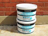 Bondmaster Waterproof Ceramic Tile Adhesive. Two 14kg Tubs Containers