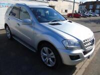 2010 60 MERCEDES ML 300 3.0 CDI SPORT BLUE EFFICIENCY AUTO