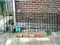 Wrought Iron Gates - Driveway Pair + Side Gate