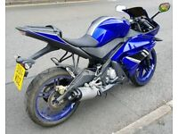 YAMAHA R125 2014 1 OWNER ONLY 2500MILES
