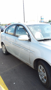 2009 Hyundai Accent chrome Other