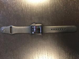 Apple Watch Series 1 38mm Sport Band - Black