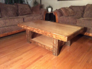 Beautiful new distressed maple coffee table ,$395!!