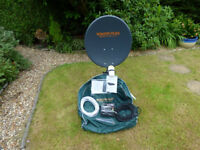 Vision Plus Portable Satellite System