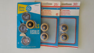 Glass fuses - 15, 20, 25, and 30 amps - free
