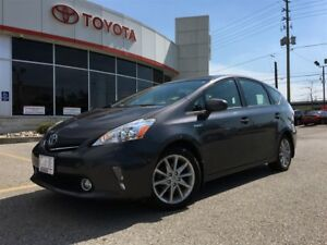 2014 Toyota Prius v LEATHER, NAVIGATION, PANORAMIC SUNROOF, BLUE