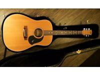 Maton EM325-C Acoustic Electric Guitar - solid body, including Custom Maton Hard case