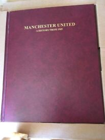 **FLASH SALE MANCHESTER UNITED A HISTORY FROM 1909