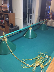 Pool Table Hanging Light