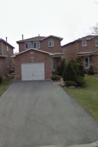 For Rent: Detach 3 bed house in central mississauga