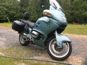 2000 BMW R1100 RT boxer mint 55,000 km just like new  $4500.00
