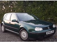 2000 Golf TDI SE - Green - NO MOT + Fuel Guage is Intermittent.