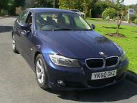 2010 60 REG BMW 320D EFFICIENTDYNAMICS DIESEL 4 DOOR SALOON £20 YEAR ROAD TAX