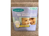 Full unopened box Lansinoh Nursing Pads 60