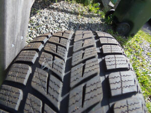 225/45/18  winter tires for sale.