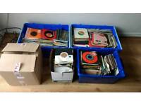 "1,000 7"" Vinyl Records Mainly Rock and Pop 60s 70s 80s and 90s"