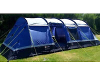 High Gear Kalahari 10 man tent with accessories