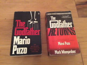The Godfather by Mario Puzo & The Godfather Returns - Paperback