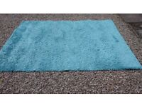 Teal Rug by Next