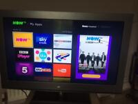 """32"""" HD FREEVIEW HD TV - excellent condition"""