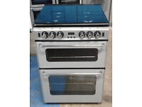 C120 Silver NewWorld 60cm Gas Cooker, Comes With Warranty & Can Be Delivered Or Collected
