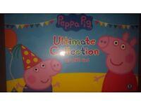 Brand new box set of 20 peppa pig dvds