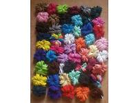 Hair bobbles 4mm thickness £2.50 for 50