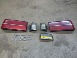 1985-1988 Pontiac Grand Am TailLight Parts Lot.