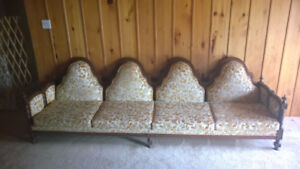 Couch and chair pair - great condition