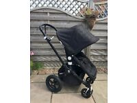 Bugaboo Cameleon³ Limited Edition, Black Frame, Single Seat Stroller. Immaculate condition.
