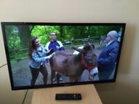 "Great condition 32""; PANADONIC LED TV hd ready freeview unbuilt"